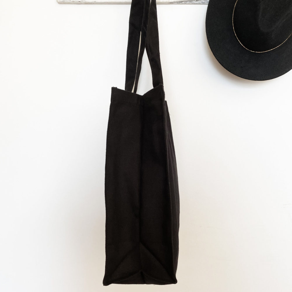 sac cabas noir Lucky eye